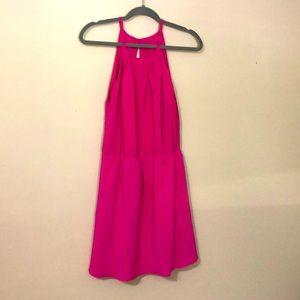 Haoduoyi pink dress